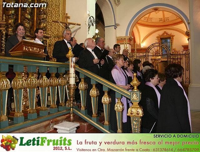 Concierto de Música Sacra e imposición del Escudo de Oro a la Coral Santiago de Totana - 14