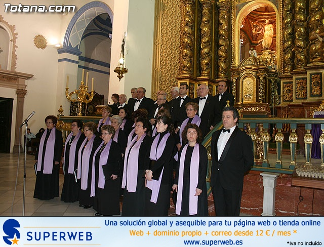 Concierto de Música Sacra e imposición del Escudo de Oro a la Coral Santiago de Totana - 23
