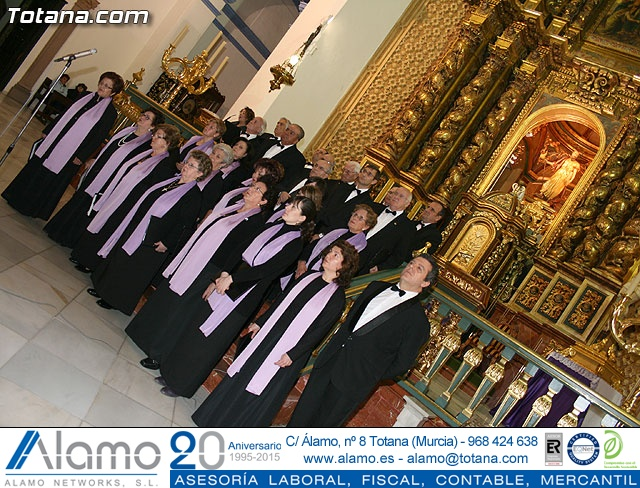 Concierto de Música Sacra e imposición del Escudo de Oro a la Coral Santiago de Totana - 24