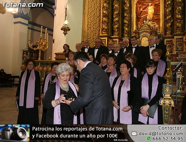 Concierto de Música Sacra e imposición del Escudo de Oro a la Coral Santiago de Totana - 28