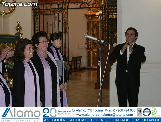 Concierto de Música Sacra e imposición del Escudo de Oro a la Coral Santiago de Totana - 85