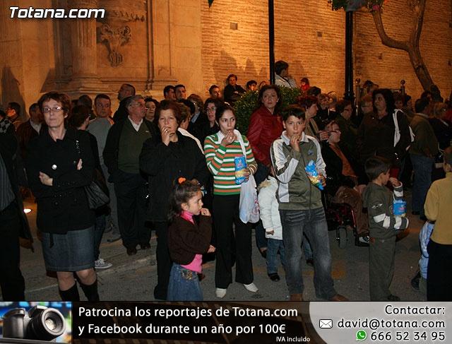 Traslado de Pasos. Noche del Lunes Santo 2009 - 4
