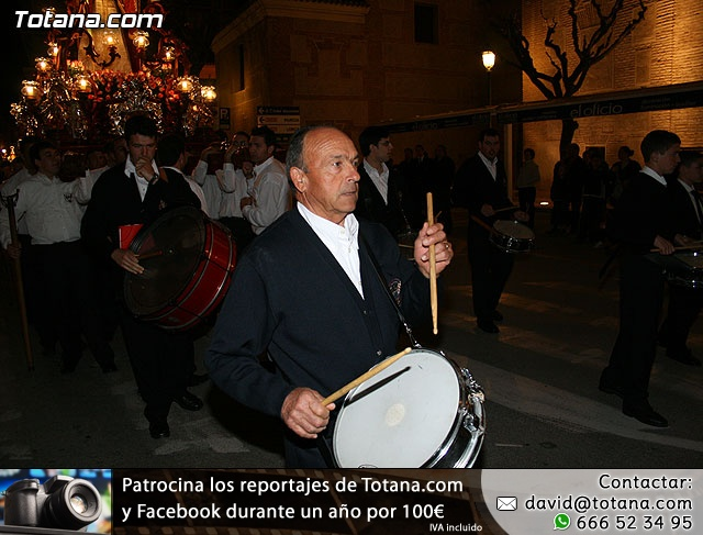 Traslado de Pasos. Noche del Lunes Santo 2009 - 29