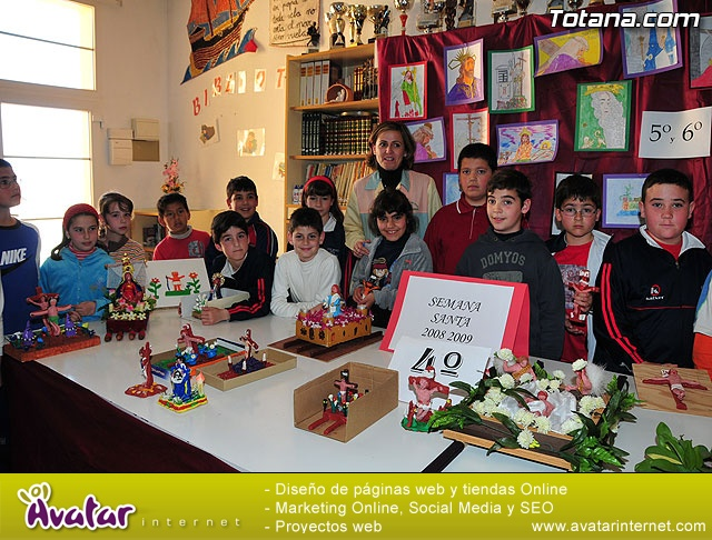 Así ven los alumnos del colegio Santa Eulalia la Semana Santa - 25