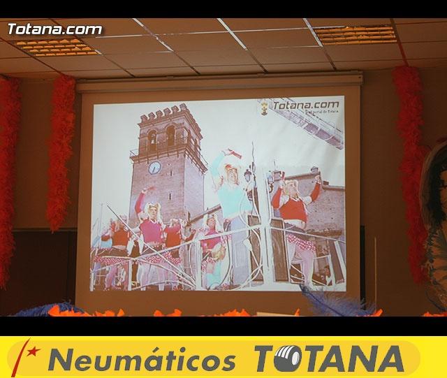 """CENA PARA PRESENTAR EL CARTEL DEL CARNAVAL 2008 Y LA PROCLAMACIÓN PÚBLICA DE """"DON CARNAL"""" Y """"LA MUSA"""" - 7"""
