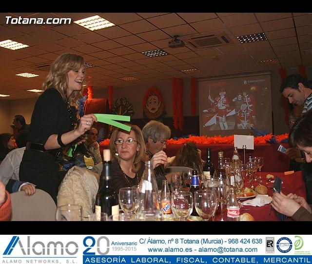 """CENA PARA PRESENTAR EL CARTEL DEL CARNAVAL 2008 Y LA PROCLAMACIÓN PÚBLICA DE """"DON CARNAL"""" Y """"LA MUSA"""" - 8"""