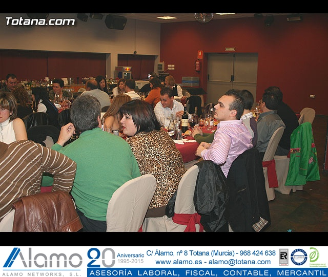 """CENA PARA PRESENTAR EL CARTEL DEL CARNAVAL 2008 Y LA PROCLAMACIÓN PÚBLICA DE """"DON CARNAL"""" Y """"LA MUSA"""" - 20"""