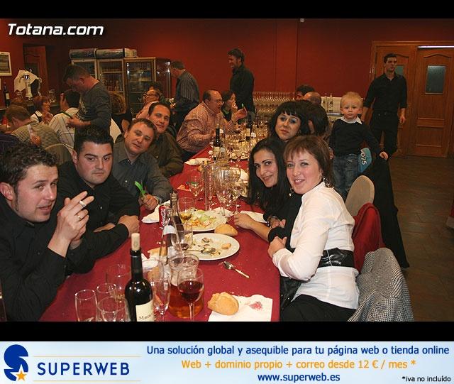 """CENA PARA PRESENTAR EL CARTEL DEL CARNAVAL 2008 Y LA PROCLAMACIÓN PÚBLICA DE """"DON CARNAL"""" Y """"LA MUSA"""" - 31"""