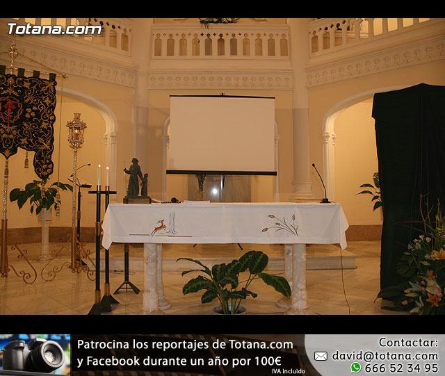 ACTO OFICIAL DE PRESENTACIÓN DEL CARTEL DE LA SEMANA SANTA´2008 QUE ILUSTRA UNA BELLA IMAGEN DE LA SANTÍSIMA VIRGEN DE LA ESPERANZA    - 2
