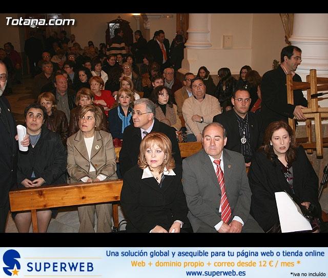 ACTO OFICIAL DE PRESENTACIÓN DEL CARTEL DE LA SEMANA SANTA´2008 QUE ILUSTRA UNA BELLA IMAGEN DE LA SANTÍSIMA VIRGEN DE LA ESPERANZA    - 7