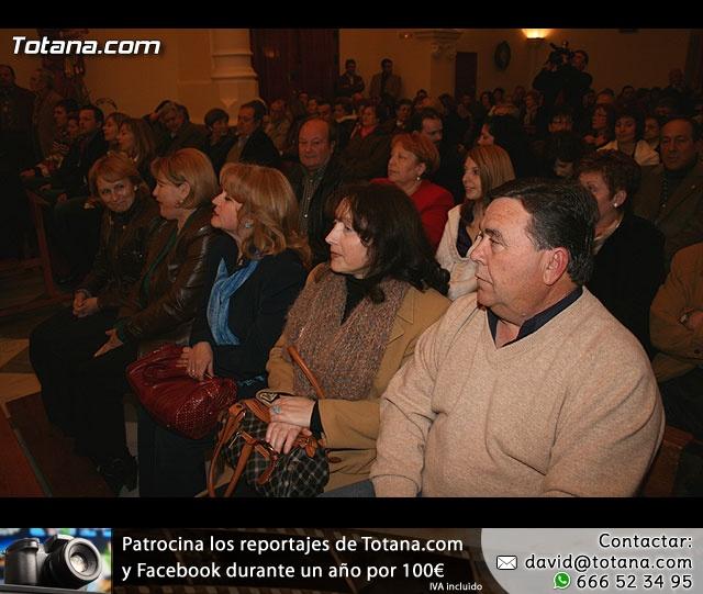 ACTO OFICIAL DE PRESENTACIÓN DEL CARTEL DE LA SEMANA SANTA´2008 QUE ILUSTRA UNA BELLA IMAGEN DE LA SANTÍSIMA VIRGEN DE LA ESPERANZA    - 16