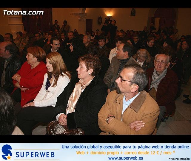 ACTO OFICIAL DE PRESENTACIÓN DEL CARTEL DE LA SEMANA SANTA´2008 QUE ILUSTRA UNA BELLA IMAGEN DE LA SANTÍSIMA VIRGEN DE LA ESPERANZA    - 17