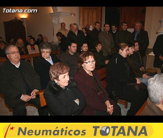 ACTO OFICIAL DE PRESENTACIÓN DEL CARTEL DE LA SEMANA SANTA´2008 QUE ILUSTRA UNA BELLA IMAGEN DE LA SANTÍSIMA VIRGEN DE LA ESPERANZA    - 29