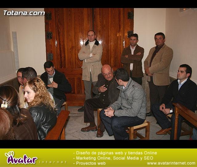 ACTO OFICIAL DE PRESENTACIÓN DEL CARTEL DE LA SEMANA SANTA´2008 QUE ILUSTRA UNA BELLA IMAGEN DE LA SANTÍSIMA VIRGEN DE LA ESPERANZA    - 34