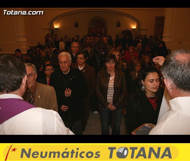 ACTO OFICIAL DE PRESENTACIÓN DEL CARTEL DE LA SEMANA SANTA´2008 QUE ILUSTRA UNA BELLA IMAGEN DE LA SANTÍSIMA VIRGEN DE LA ESPERANZA    - 65
