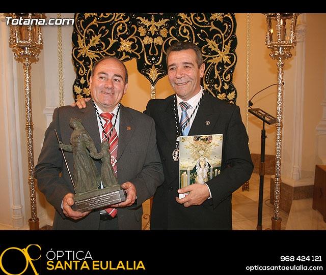 ACTO OFICIAL DE PRESENTACIÓN DEL CARTEL DE LA SEMANA SANTA´2008 QUE ILUSTRA UNA BELLA IMAGEN DE LA SANTÍSIMA VIRGEN DE LA ESPERANZA    - 130