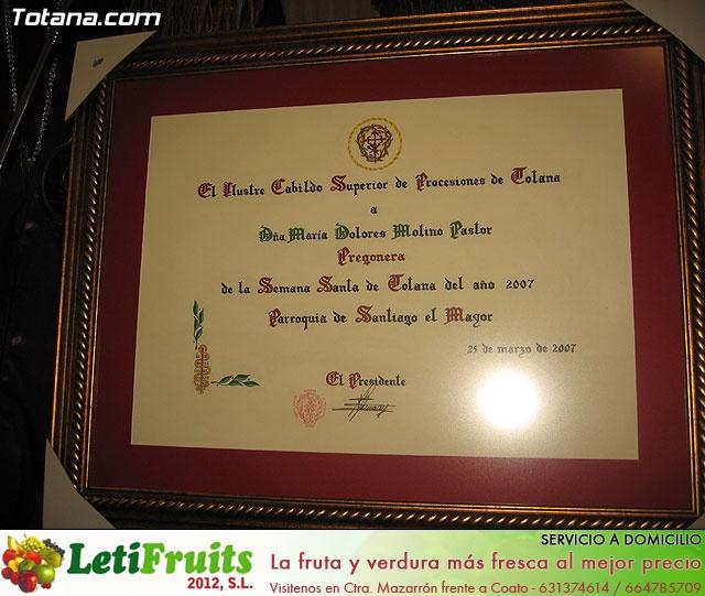 Comida de Hermandades y Cofradías. Semana Santa 2007 - 1