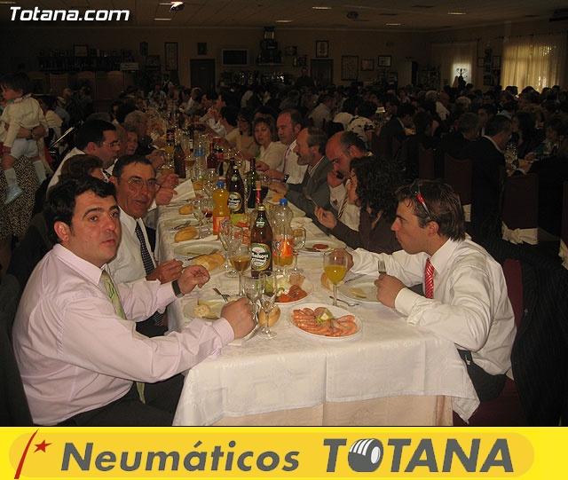 Comida de Hermandades y Cofradías. Semana Santa 2007 - 38