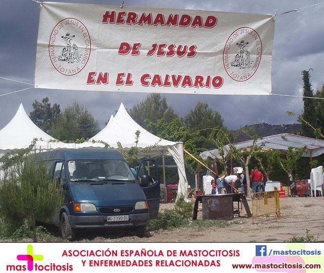 Jornada de convivencia. Hermandad de Jesús en el Calvario. 18/04/2009  - 1