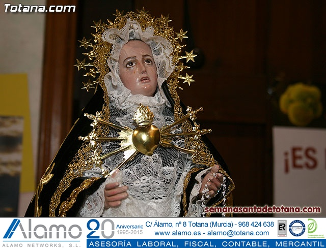 La Hermandad de Nuestra Señora de los Dolores estrena carroza infantil - 7
