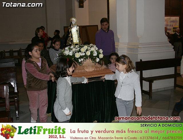 La Hermandad de Nuestra Señora de los Dolores estrena carroza infantil - 9