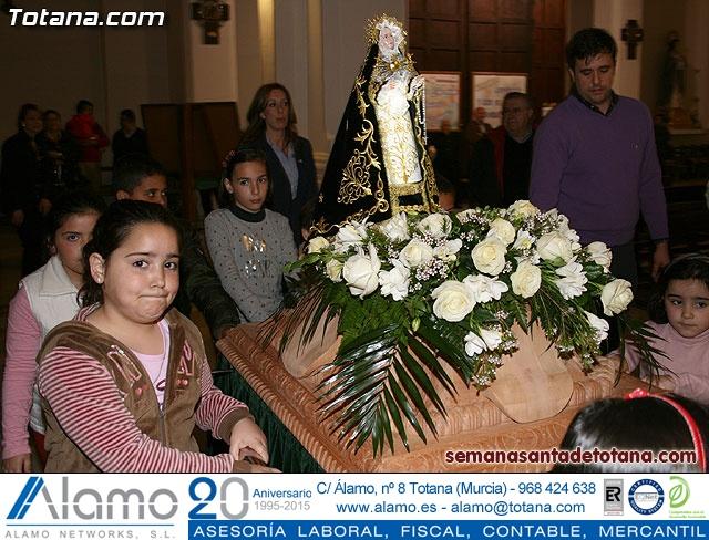 La Hermandad de Nuestra Señora de los Dolores estrena carroza infantil - 11