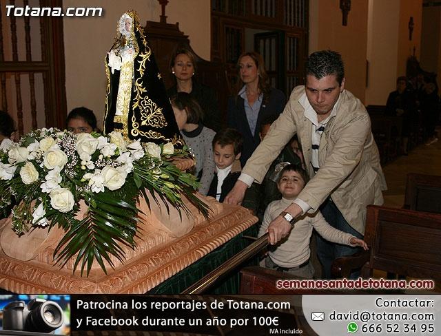 La Hermandad de Nuestra Señora de los Dolores estrena carroza infantil - 14