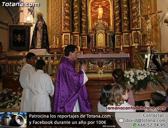 La Hermandad de Nuestra Señora de los Dolores estrena carroza infantil - 19