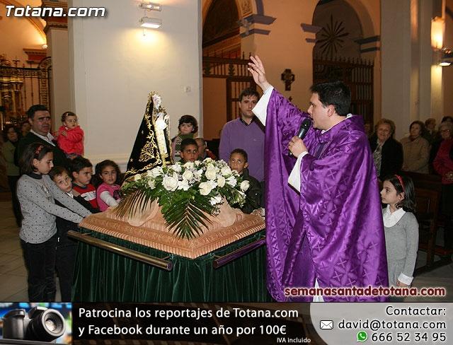 La Hermandad de Nuestra Señora de los Dolores estrena carroza infantil - 25