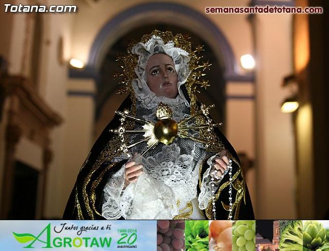 La Hermandad de Nuestra Señora de los Dolores estrena carroza infantil - 35