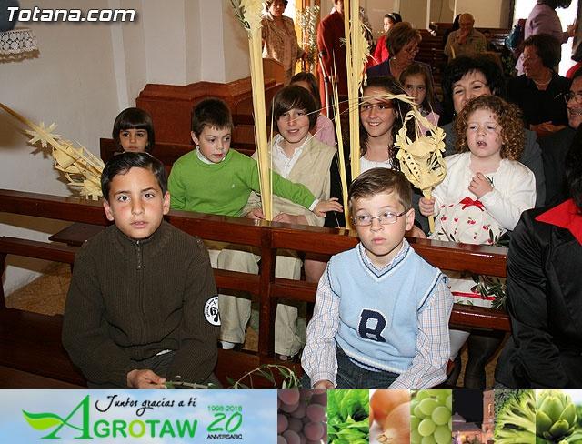 Domingo de Ramos. Parroquia de las Tres Avemarías. Semana Santa 2009 - 12