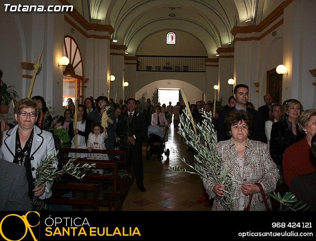 Domingo de Ramos. Parroquia de las Tres Avemarías. Semana Santa 2009 - 28