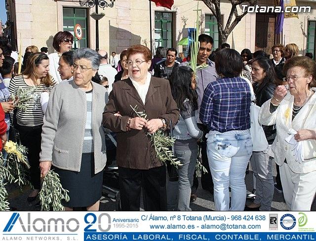Domingo de Ramos - Parroquia de Santiago. Semana Santa 2011 - 14