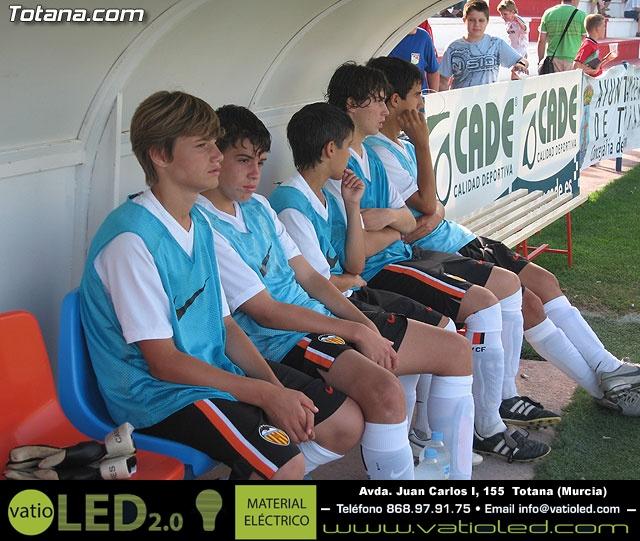 El Valencia C.F. se proclama campeón del VI torneo de fútbol Ciudad de Totana - 2