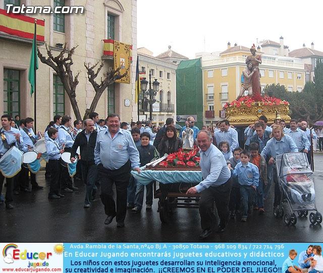 JUEVES SANTO - TRASLADO DE LOS TRONOS A LA PARROQUIA DE SANTIAGO - 19