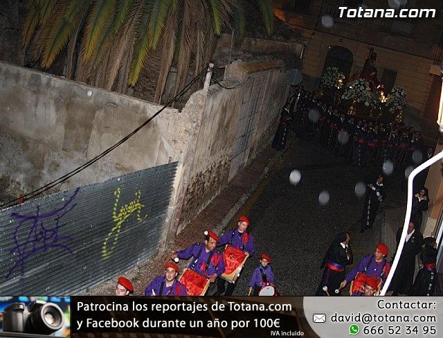 La lluvia obliga a suspender la Procesión del Jueves Santo 2011 - 1