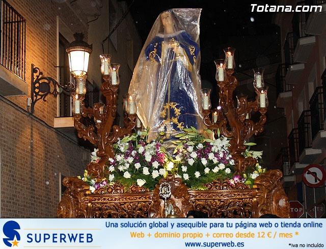 La lluvia obliga a suspender la Procesión del Jueves Santo 2011 - 12