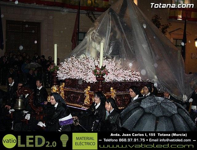 La lluvia obliga a suspender la Procesión del Jueves Santo 2011 - 53