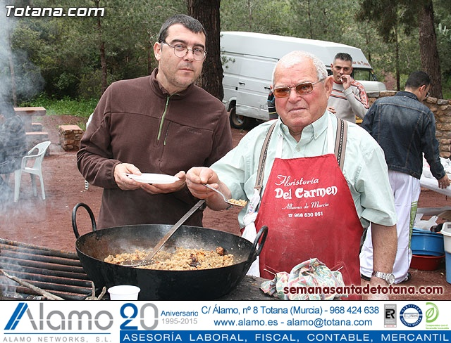 Jornada de convivencia en La Santa. Hermandades y cofradías. 18/04/2010 - 2