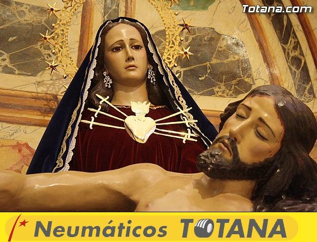 La imagen de la Verónica en la Iglesia de Santiago - 26