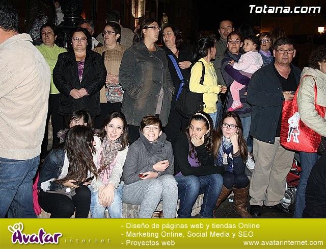 Traslado de pasos. Noche del Lunes Santo 2011 - 5