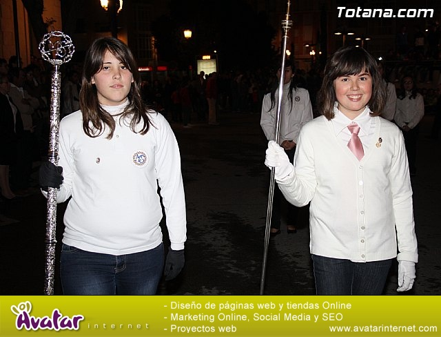 Traslado de pasos. Noche del Lunes Santo 2011 - 7