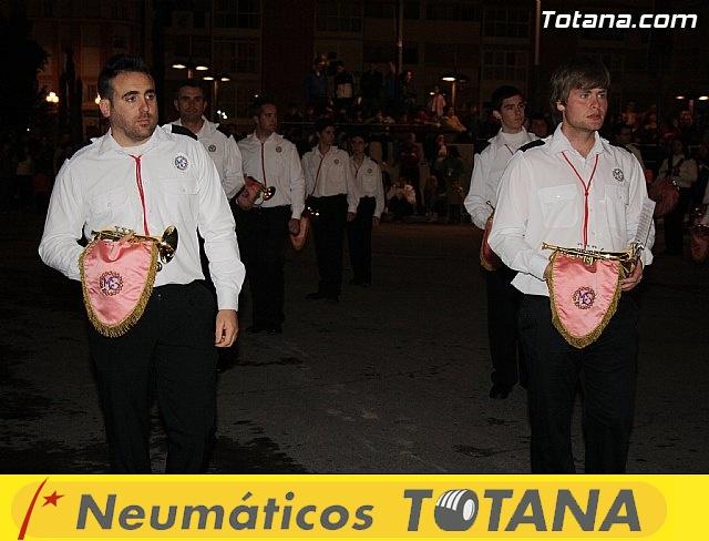 Traslado de pasos. Noche del Lunes Santo 2011 - 12