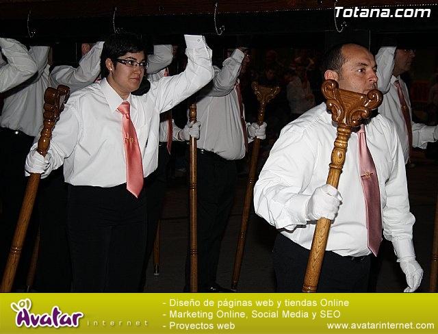Traslado de pasos. Noche del Lunes Santo 2011 - 31
