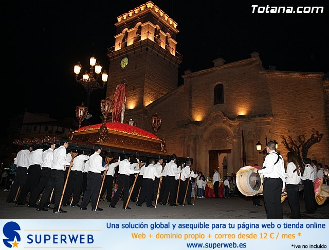 Traslado de pasos. Noche del Lunes Santo 2011 - 38