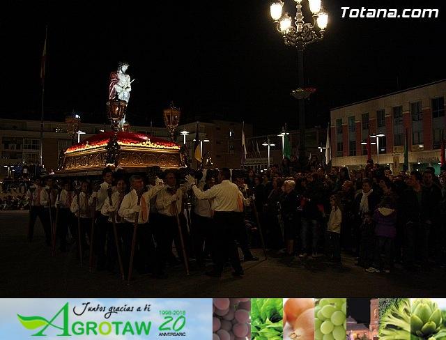 Traslado de pasos. Noche del Lunes Santo 2011 - 51