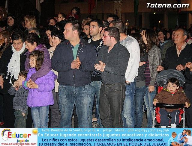 Traslado de pasos. Noche del Lunes Santo 2011 - 60