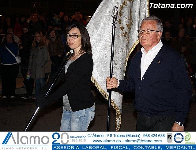 Traslado de pasos. Noche del Lunes Santo 2011 - 65