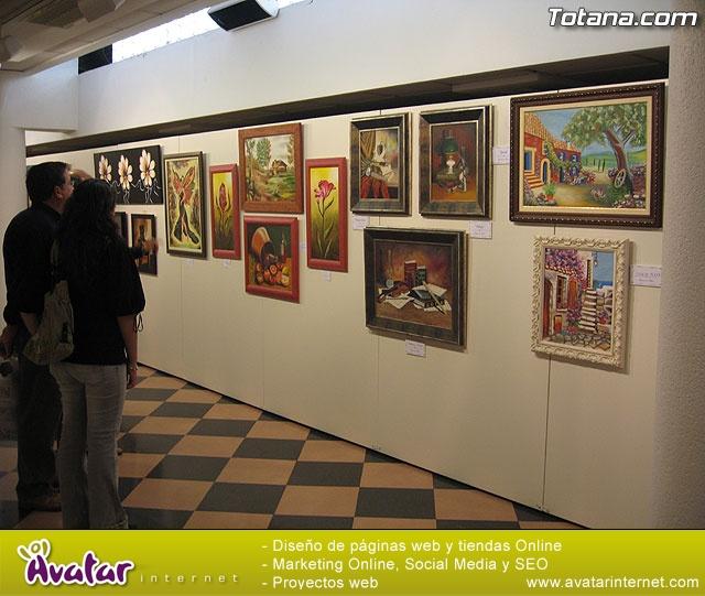 """LA ASOCIACIÓN DE AMAS DE CASA DE LAS """"TRES AVEMARÍAS"""" INAUGURA LA EXPOSICIÓN DE PINTURA """"YO, NI MEDIA PALABRA. ¿Y TÚ?"""" ANTE UN NUMEROSO PÚBLICO EN LA SALA MUNICIPAL DE EXPOSICIONES """"GREGORIO CEBRIÁN"""" - 142"""