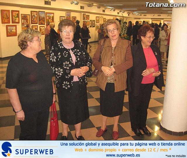 """LA ASOCIACIÓN DE AMAS DE CASA DE LAS """"TRES AVEMARÍAS"""" INAUGURA LA EXPOSICIÓN DE PINTURA """"YO, NI MEDIA PALABRA. ¿Y TÚ?"""" ANTE UN NUMEROSO PÚBLICO EN LA SALA MUNICIPAL DE EXPOSICIONES """"GREGORIO CEBRIÁN"""" - 33"""